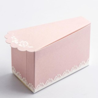 Taartdoosjes Blush Pink 10-stuks