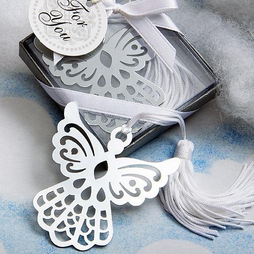 Engel Boekenlegger Bedankje Zilver