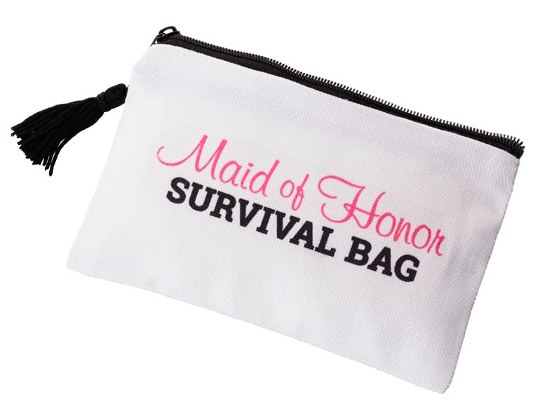 Wedding Day Survival Bag Maid Of Honor