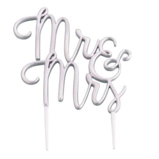 Mr en Mrs taarttopper