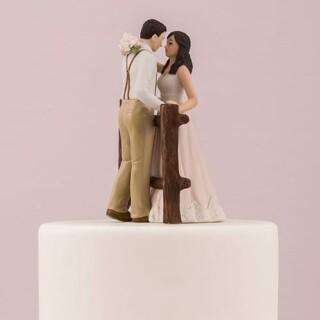 Cake Topper Rustic Love