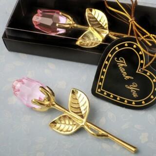 Gouden Roos van Kristal - Roze