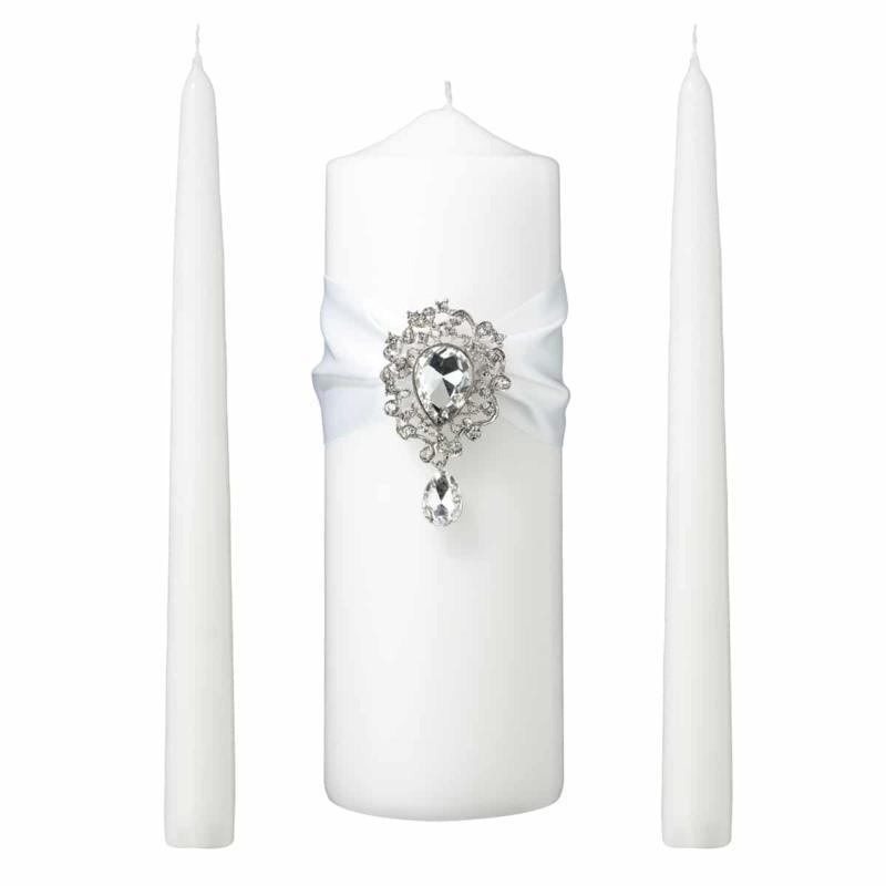 Ongekend Ceremonie Kaarsen Wit Juweel voor je Bruiloft - Alles Voor Je Huwelijk XG-12