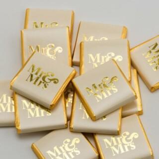 Chocolade Napolitains Mr & Mrs Goud