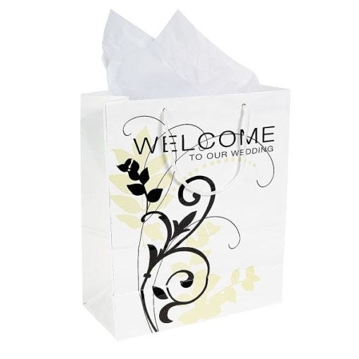 Cadeautassen Welcome Wedding