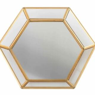 Geometrisch Gespiegeld Dienblad Goud Gastenboek
