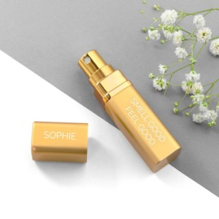 Parfumverstuiver Goud Gepersonaliseerd