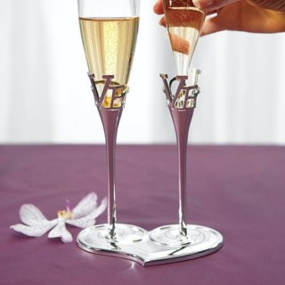 LOVE Champagneglazen