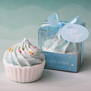 Cupcake Bad Fizzer Blauw