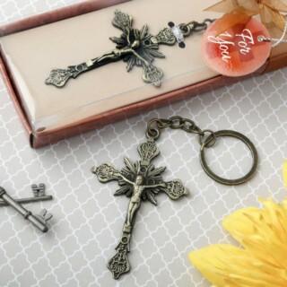 Jezus aan het kruis sleutelhanger