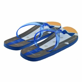 Blauwe Bruiloft Slippers Strand