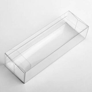 Transparante doos (sluiting aan de zijkant) 13 x 3.5 x 2.5 cm - 10 Stuks