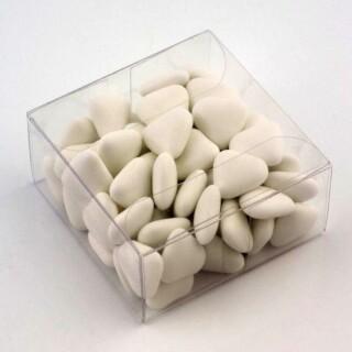Transparante Kleine Geschenkdoosjes - 6 x 6 x 3 cm - 10 Stuks