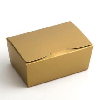 Gold silk - ballotin 125x80x55mm - 10 Pack