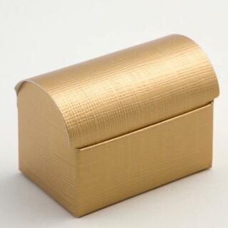 Doosjes Goud Zijdeglans - Koffer model 7 x 4.5 x 5.2 cm - 10 Stuks