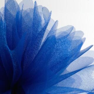 Koningsblauw Organza Tule gekartelde rand - 50 Stuks