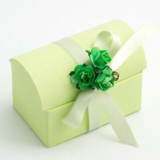 Doosjes Groen - Koffer - 7 x 4.5 x 5.2 cm - 10 Stuks
