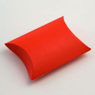 Doosjes Rood Zijdeglans – Sachet 7 x 7 x 2.5 cm – 10 Stuks