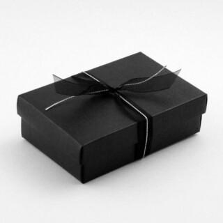 Zwart Rechthoekig Doosje – 13 x 9 x 4 cm – 10 Stuks
