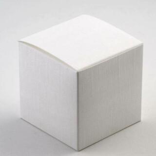 Kubusdoosjes - Wit Zijdeglans - 8 x 8 x 8 cm - 10 Stuks