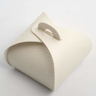 Doosjes Antiek Wit – Mini Buideltje - 5.5 x 5.5 x 5 cm – 10 Stuks