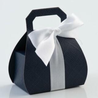 Doosjes Navy Blue – Handtas 8 cm – 10 stuks