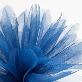 Donkerblauw Organza Tule gekartelde rand - 50 Stuks