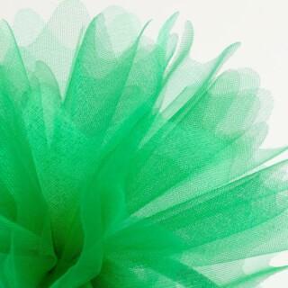 Emerald Organza Tule gekartelde rand - 50 Stuks