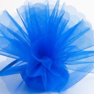 Koningsblauw Organza Tule geschulpte rand - 50 Stuks
