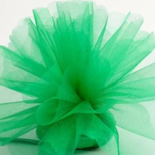 Emerald Organza Tule geschulpte rand - 50 Stuks