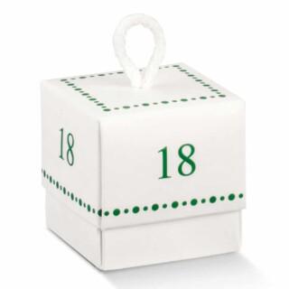 18 jaar Doosjes met Koord - 10 Stuks