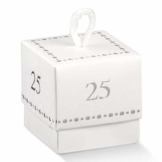 25 jaar Doosjes met Koord - 10 Stuks