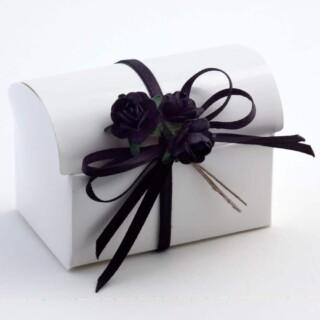 Doosjes Glossy Wit – Koffer – 7 x 4.5 x 5.2 cm – 10 Stuks