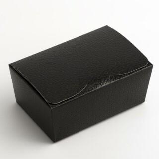 Pralinedoosjes Zwart Hoogglans – 12.5 x 8 x 5.5 cm – 10 Stuks