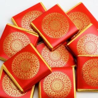 Mandala Napolitains Rood / Goud