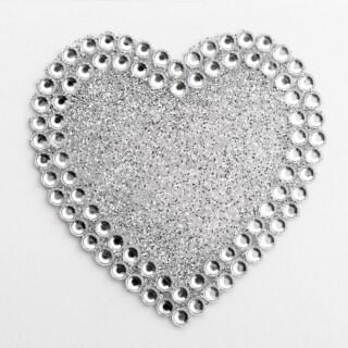 Diamante Glitter Hart - 5 cm