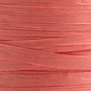 Raffia Lint Coral Pink