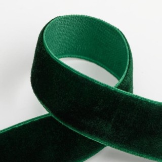 Fluweel Lint Groen 18 mm x 10 M