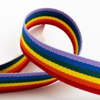 Grosgrain Lint Rainbow Stripe