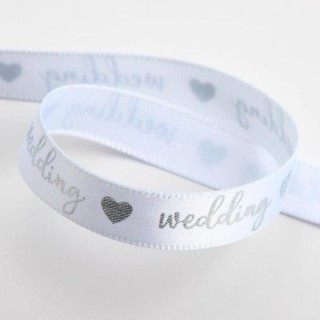 Wedding Lint Wit / Zilver