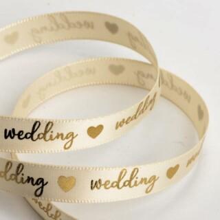 Wedding Lint Creme / Goud