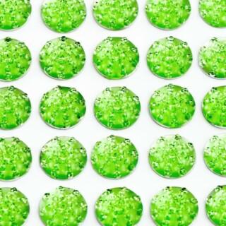 Zelfklevende Juwelen - Groen