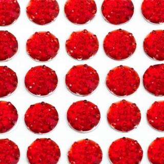 Zelfklevende Juwelen - Rood