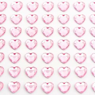 Zelfklevende Hartjes - Roze