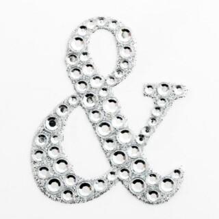 Zelfklevende Diamante Glitter Letter &
