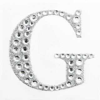 Zelfklevende Diamante Glitter Letter G