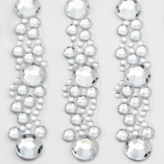 Diamante Cluster Strips 12.5 cm - 3 Stuks