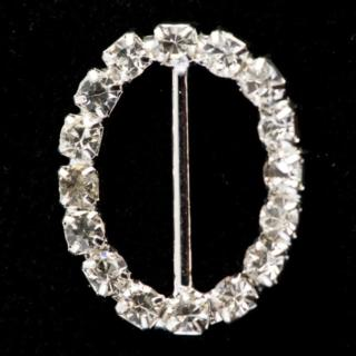 Diamant Gesp Ovaal Medium - 10 stuks