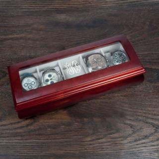 Horloge Bewaardoos met Monogram Initialen