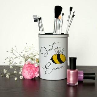 Make Up Kwasten Houder met Naam – Bee You